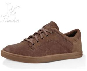 Hot Sale Comfortable Men′s Plain Shoes (CAS-042) pictures & photos