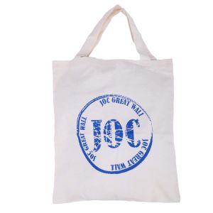 Cotton with Printing Logo Hand Bag pictures & photos