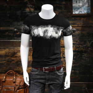 Fashion Short Sleeve Customized Digital Printing Men Cotton T Shirts pictures & photos