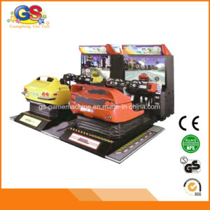 Cheap Electronic Simulator Arcade Racing Car Video Game Machine in Car Race Game pictures & photos