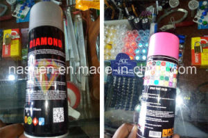 Factory Offer Auto Areosol Spray Paint Gold Silver Color Spray Paint pictures & photos