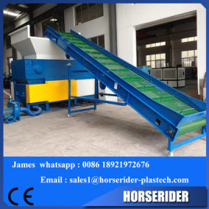 Hot Popular Single Shaft PP PE Lumps Plastic Shredder pictures & photos