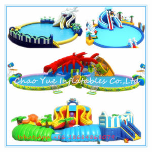 Commercial Outdoor Customized Inflatable Water Park with Ce Blower pictures & photos