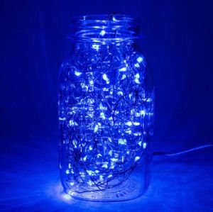 Fairy Blue Copper Wire 6.6FT 20 LEDs Flexible Starry String Light Mini in The Box pictures & photos