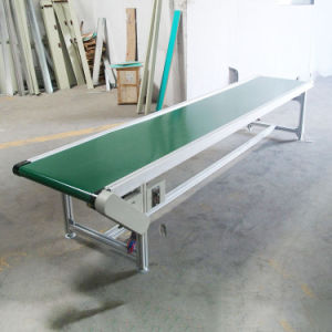 Express Belt Small Conveyor PVC PU Belt Conveyor Ss Material pictures & photos