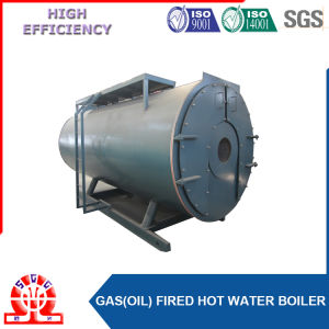 Three Return Trip Gas Hot Water Boiler for Supply Heating pictures & photos