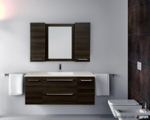 Modern Wall Style One Sink Furniture Bathroom Vanity pictures & photos