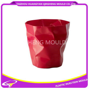 Plastic Round Wrinkle Dustbin for Plastic Mould pictures & photos