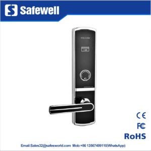 Environmental Zinc Alloy Hotel Door Lock with Three Color pictures & photos