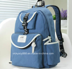 Fashion Double Shoulder Leisure Shopping Travel Student Backpack Bag (CY3670) pictures & photos
