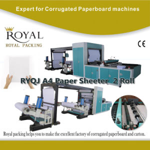 A4 Paper Cutting Machine, A4 A3 A5 Size Paper Making Machine with Ce Certificate pictures & photos