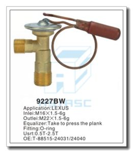 Customized Thermal Brass Expansion Valve for Auto Refrigeration MD9227bw pictures & photos