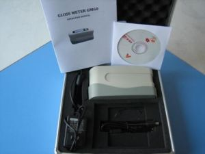Portable Digital Gloss Meter Sales (GM60/GMS) with Software to PC pictures & photos