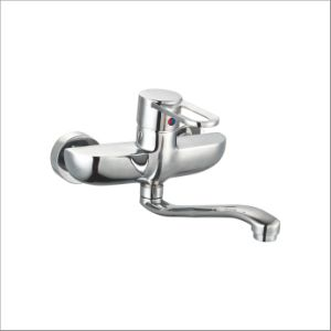 Nice Design Single Handle Wall-Mounted Kitchen Mixer&Faucet Jv73404 pictures & photos