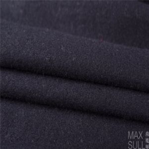 Wool/Polyamide Fabric for Winter Coat in Black pictures & photos