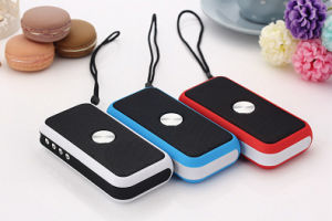 Portable Bluetooth Speaker with 2000mA Powerbank and Flashlight