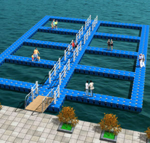HDPE Swimming Pontoon Floats/Floating Swimming Platform Plans in China pictures & photos