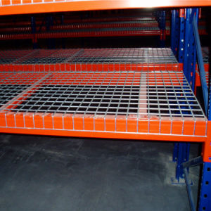 Painted Wire Netting for Pallet Rack pictures & photos