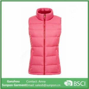 Beautiful Warm Cotton Padding Jacket for Women pictures & photos