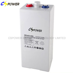 Cspower Tubular Plate Gel Battery Opzv Battery 2V 420ah pictures & photos
