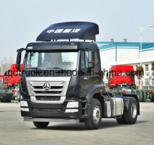 HOWO A7 tractor truck container truck pictures & photos