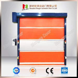 Industrial PVC High Speed Automatic Rapid Rolling Sliding Door pictures & photos