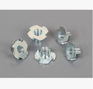 DIN1624 Blue Zinc-Plated Four Claw Nut for Furniture pictures & photos