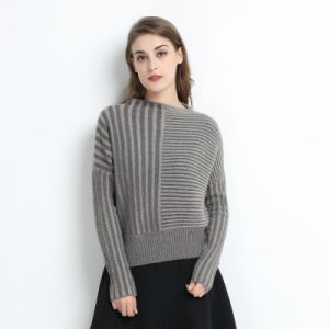 a/B Yarn Women Round Neck 100% Cashmere Sweater