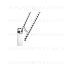 Lpd Stainless Steel Fold up Grab Bars with Toilet Paper Holder pictures & photos