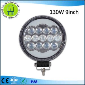 Driving Light 130W 9inch LED Front Headlight Jeep Wrangler Car Headlight