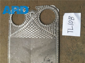 Thermowave Plate Heat Exchanger Plate Tl400 Tl10b Plate Titanium C2000 AISI304 AISI316 pictures & photos