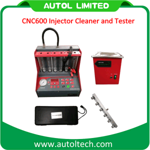 High Quality Launch CNC600 Injector Cleaner and Tester CNC600 Fuel Injector Cleaner Machine CNC 600 Tester pictures & photos