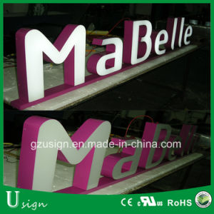 High Bright Waterproof Mini Acrylic LED Letters 3D Mini Letter Sign Illuminated 3D pictures & photos