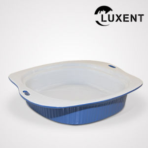 Mobile Ceramic Ce Approval Colored Big Baking Tray pictures & photos