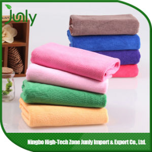 Microfibre Towel Micro Cleaning Cloth Microfiber Cloths for Cleaning pictures & photos
