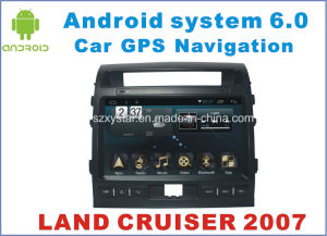 New Ui Android 6.0 Car DVD for Land Cruiser 2007 with Car GPS Navigation
