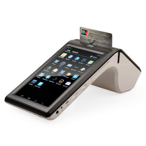 Gp7002 Touch Screen Android 4.2 Barcode Scanner with Display 80mm Receipt Printer POS System pictures & photos