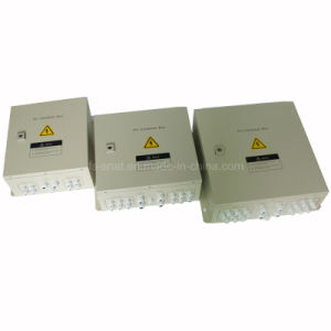 PV Arrays Solar Combiner Box 4 in 1 out DC Solar Junction Box for Solar Panel System pictures & photos