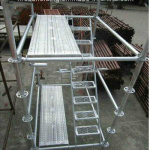Good Quality and Low Price Ringlock System Scaffold for Construction pictures & photos