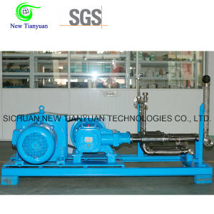 LNG Lo2 High Pressure Double-Row 2000-4000lh Flow Cryogenic Liquid Pump pictures & photos