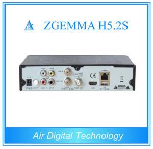 Powerful Zgemma H5.2s Satellite Receiver Twin DVB-S2 IPTV Decoder Set Top Box pictures & photos