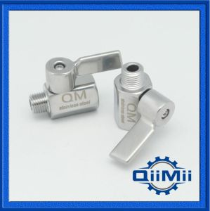 Sanitary Stainless Steel Mini Ball Valve Male/Female Thread Ss304/316L pictures & photos