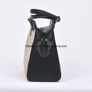 China Supplier Leather Lady Handbag Tote Bag Custom Bag Satchel pictures & photos