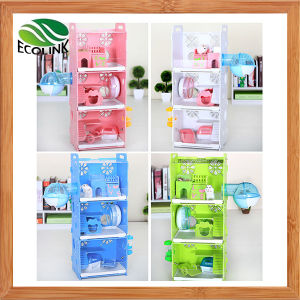 Multilayer Animals Cage with Decoration in Strong Enough Eco Board Small Animal Habitat for Gerbil Hamsters pictures & photos