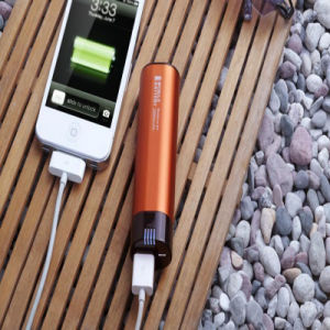Hot Sale Mini Cigar-Shaped Power Bank Mobile Charger 2600mAh pictures & photos