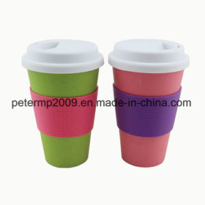 Food Safe Approved FDA and LFGB Bamboo Fibre Eco Friendly Cups pictures & photos