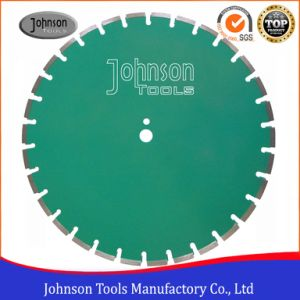 500mm Wide U Slots Laser Welded Diamond Saw Blades for Asphalt Cutting pictures & photos