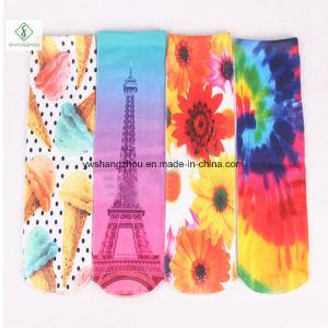 Hot Sale Europe Emoji 3D Digital Animal Printed Fashion Semi-High Socks pictures & photos