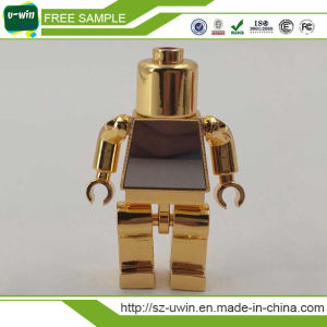 Free Sample Promotion Leather Metal USB Pen Drive pictures & photos