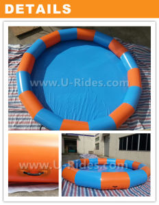 High Quality Swimming Inflatable Water Pools with Water Walking Balls pictures & photos
